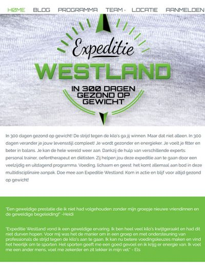 KIAU portfolio Expeditie Westland