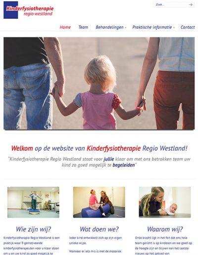 KIAU portfolio Kinderfysiotherapie Regio Westland
